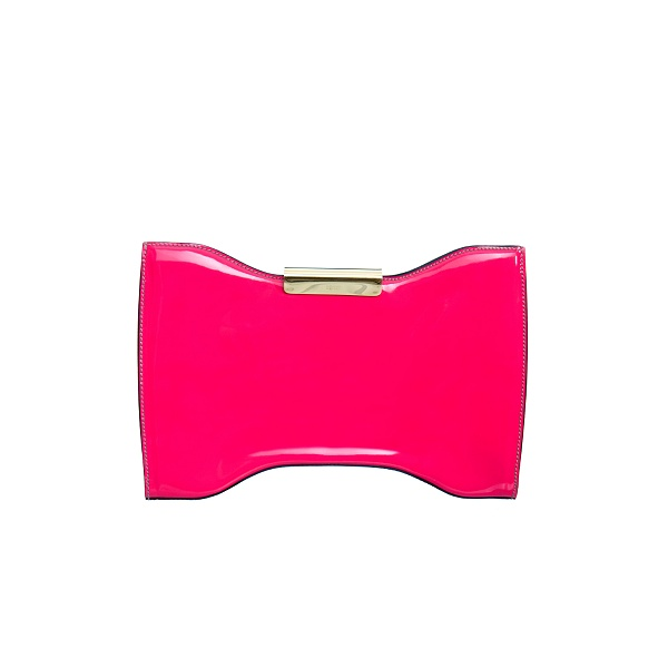 Alexander McQueen : PINK SQUEEZE - IT CLUTCH :  pink evening dance squeeze