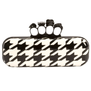 McQueen knuckle duster clutch